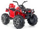 Ride On Bike Big ATV 12V Electric Motorised Sit and Ride Toy Quadbike Red